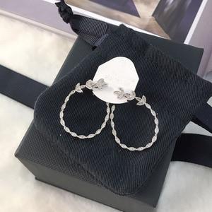 Image 2 - UMGODLY יוקרה אופנה נחושת סלול AAA מעוקב Zirconia אבנים עלים פרחוני עגילים לנשים דצמבר תכשיטים חדשים