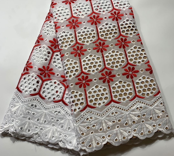 Image 5 - 2019 New Design 100%Cotton lace swiss voile lace in switzerland 