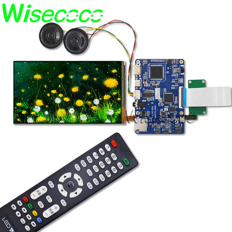 Wisecoco FHD 1080p 5 9 дюймов ЖК экран 1920*1080 Raspberry Pi RK3288 Android tv Box PS4 HDMI to MIPI DSI плата драйвера -