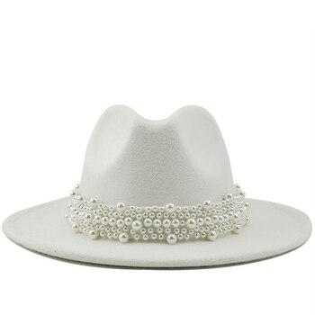 Wool Jazz Fedora Hats Casual
