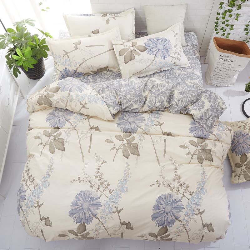 1PCS Classic Quilt Cover Aloe Vera Cotton Advanced Home Bed Soft Qualified Comfortable 150 200 180