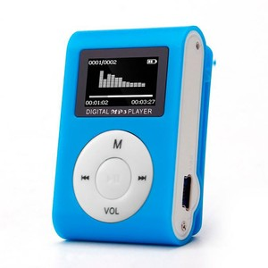 Mini USB Clip MP3 Player LCD Screen Support 32GB Micro SD TF Card Supports USB 2.0/1.1 English Chinese Brand New MP3 Player