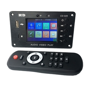MP3 декодер, плата Bluetooth 5,0 стерео аудио приемник HD видео плеер FLAC WAV APE декодер FM радио USB TF для автомобильного усилителя