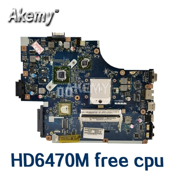 Pour For Acer aspire 5551G 5552 5552G carte mère dordinateur portable NEW75 LA-5911P MBWVE02001 MB.WVE02.001 DDR3 HD6470M cpu gratuit