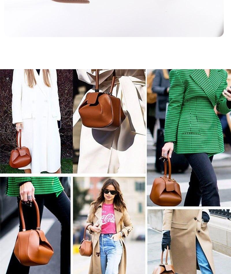 bolsa das senhoras bolsa de ombro retro portátil saco