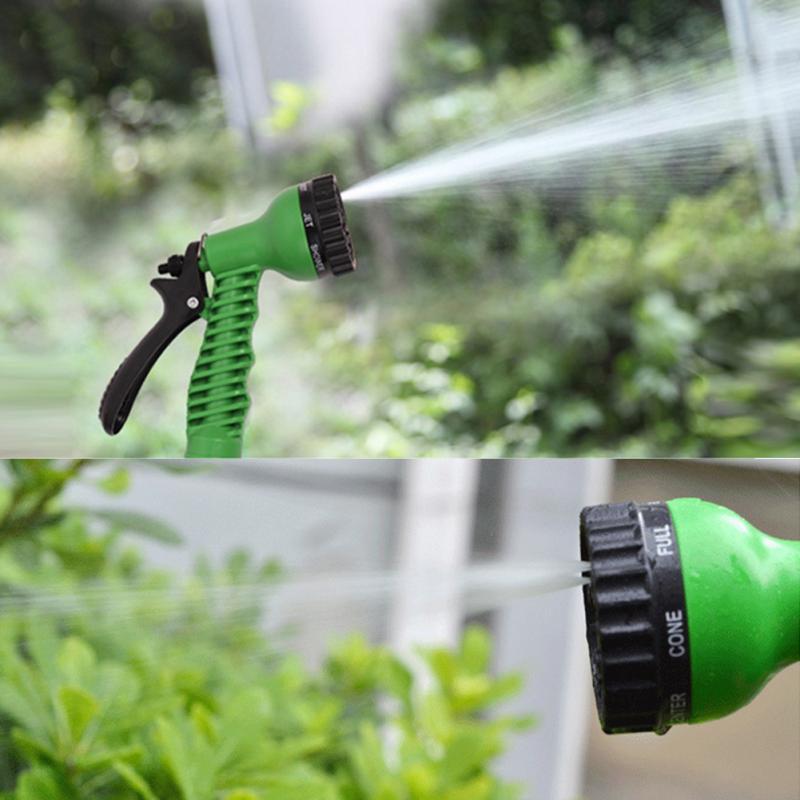 Garden Water Spray Lawn Sprinkler Car Wash Water Gun Ajustable Hose Nozzles 7 Pattern High Pressure Power Washer