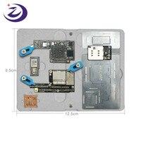G LON SS 601K reparo do telefone móvel placa mãe dispositivo elétrico para iphone x/xs/xs max duble face magnético fixação da braçadeira fixa|Peças de ferramentas| |  -