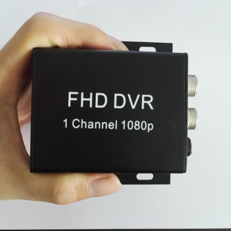 1CH 2 in 1 1080P Full DVR CCTV AHD Video Recorder DVR  For car bus Security Surveillance System