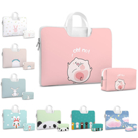 Cute Laptop bag for Dell Asus Lenovo HP Acer Handbag Computer 11 12 13 14 15 inch for Macbook Air Pro Notebook 15.6 Sleeve Case