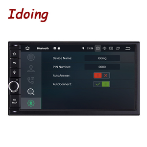 "Image 2 - 이도 2 din 7 ""PX6 4G + 64G Hexa 코어 안드로이드 10 블루투스 5.0 HDMI USB 범용 자동차 GPS Navi DSP 라디오 멀티미디어 플레이어 no dvd"
