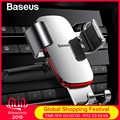 Baseus Gravity Car Phone Holder 360 Rotation Mobile Phone Clip Holder Stand Bracket CD Slot Mount Clip Holder for iPhone Samsung