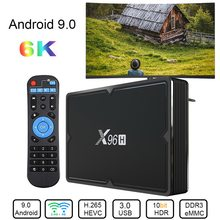 X96H Smart TV Box Android 9.0 Set Top Box 4GB RAM 64GB ROM Allwinner H603 Wifi 1080P kompatibel Netflix(China)