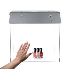 40 centimetri ha condotto la luce photo light box fotografia table top foto studio lightbox pieghevole Softbox fotografia in studio tenda di ripresa Kit