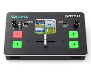 Image 2 - FEELWORLD LIVEPRO L1 Multi format Video Switcher Mixer 4 x HDMI Cable Compatible multi camera  live streaming VS Blackmagic Atem