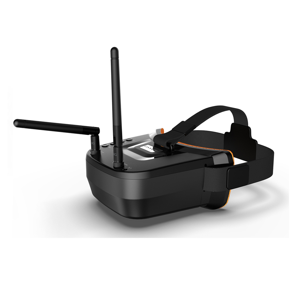 LST-009 5.8G 40CH Dual Antennas <font><b>FPV</b></font> Glasses Monitor Video Glasses Headset 3 inch 480X320 Display for <font><b>FPV</b></font> Racing <font><b>Drone</b></font> image