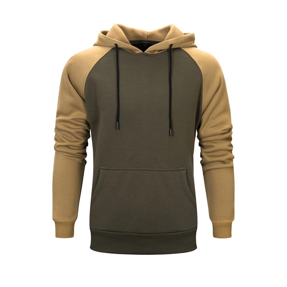 2020 neue Pullover Hoodies Sweatshirt Männer Herbst Winter Mit Kapuze Streetwear Hoody Mann Military Patchwork Hoodie Trainingsanzug Sportwear