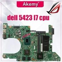 11289-14Z-5423 1 motherboard para dell 5423 motherboard dell Inspiron motherboard I7 cpu Teste original notebook