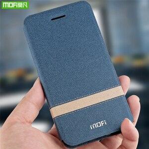Image 5 - Original MOFi Abdeckung Für Xiaomi Mi Spielen Fall Telefon Shell Für Redmi 7 Pro Fall Neue TPU Leder Flip Cover silizium Schützen Luxus