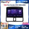 6G + 128G QLED 4G LTE WIFI CarPlay Android 10 Auto-Radio-Player Für Honda CRV 2 2001 2002 2003 2004 2005 2006 GPS keine 2din 2 din dvd