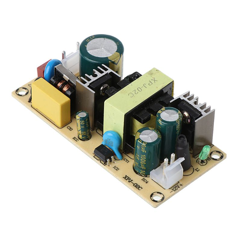 AC-DC 12V 3A 36W Switching Power Supply Module Naked Circuit 220V To 12V Board 50PB