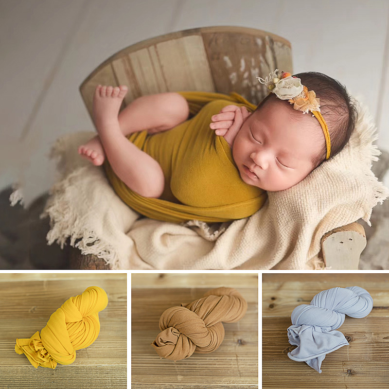Newborn Photography Props Baby Blankets Photography Accessories For Photo Studio Blanket Backdrop  Elastic Fabric Fotografia