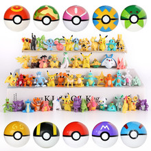 Pokemones 2-3cm 액션 엘프 볼 피규어 미니 피규어 charizard Model Toy Brinquedos Collection Anime Kids Doll(China)