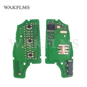 Image 3 - 3btn Fernbedienung Flip Auto Schlüssel fob 434MHz Für Nissan Rogue 2014 mit PCF7961M chip CWTWB1G767 TWB1G767 28268 4CB1A