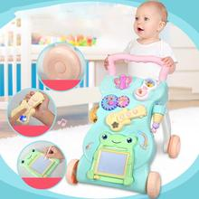 Baby Walker Multifunction Toddler Trolley Toys Sit-To-Stand Walker For Kids Early Learning Toy Children'S Gift