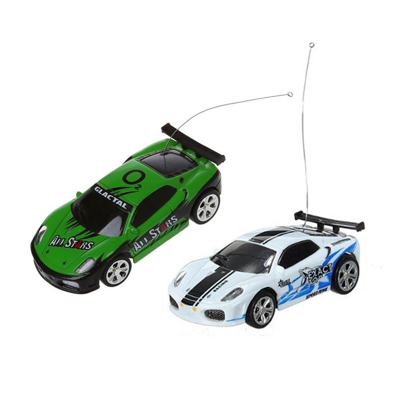 2Pcs Mini Mini RC Car RC 1:58 Box Bobbin Series SHEN QI WEI White Black /Green|RC Cars| |  - title=