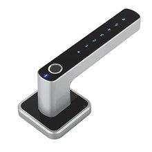 E31 Digital Intelligent Biometric Fingerprint Lock Keyless Smart Door Lock Fingerprint+Password Unlocking 2 Ways biometric fingerprint door lock intelligent electronic lock fingerprint verification with password