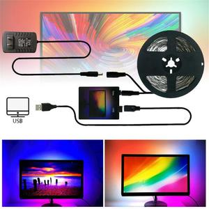 Multi-style Choose LED Light Bar DIY Ambilight TV Backlight Belt USB Rechargeable Computer Display Fantasy Household Decorative
