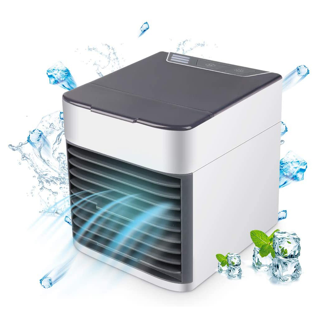 Summer Mini Air Conditioner Personal Air Cooler Humidifier Purifier Desktop Cooling Fan Office Household Air Conditioning