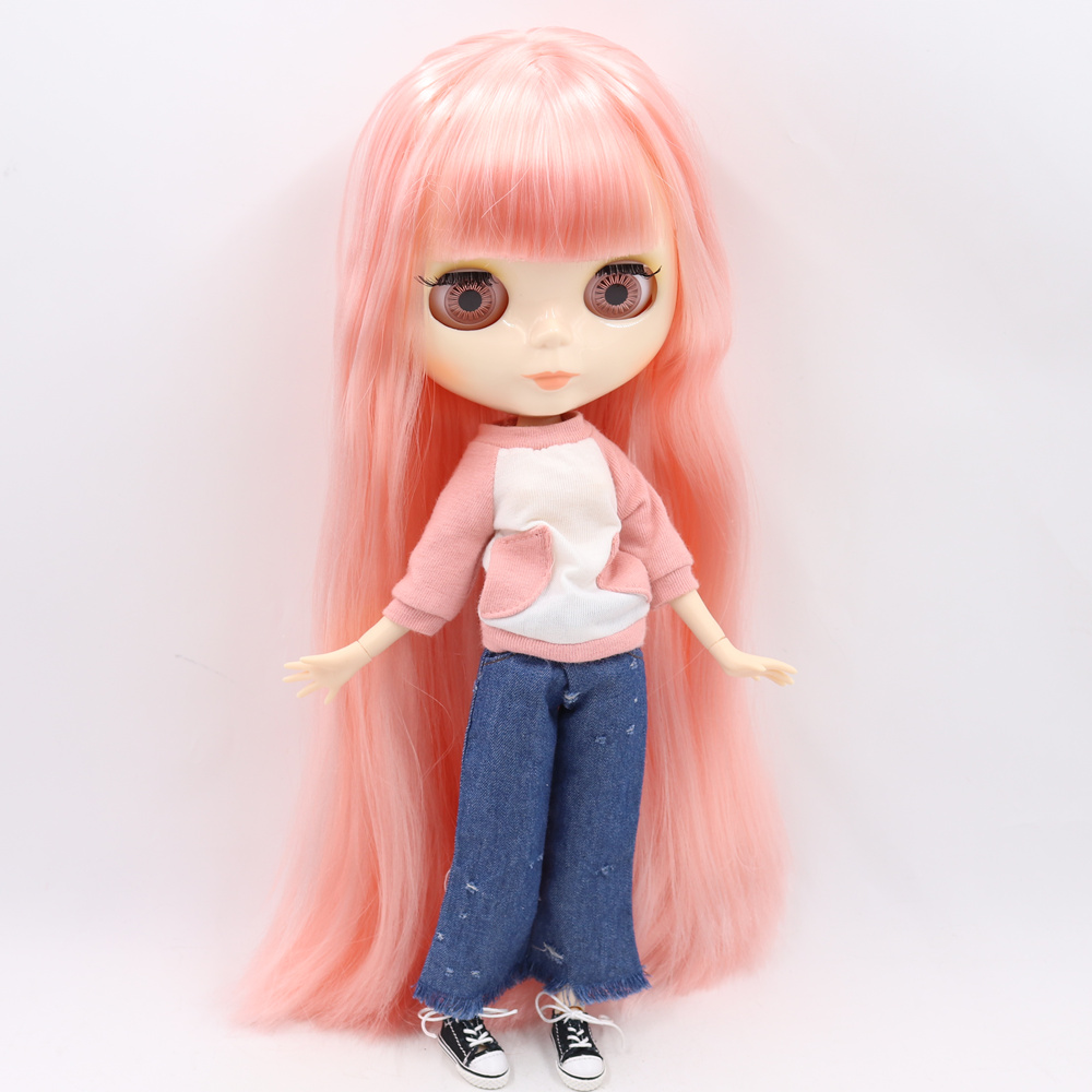 Image 2 - ICY DBS Blyth doll No.3 glossy face white skin joint body 1/6 BJD special price 1/6 BJD toy giftDolls   -