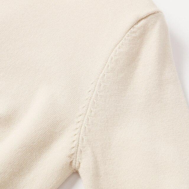 Beaded Elegant Loose  O-Neck sweater 4