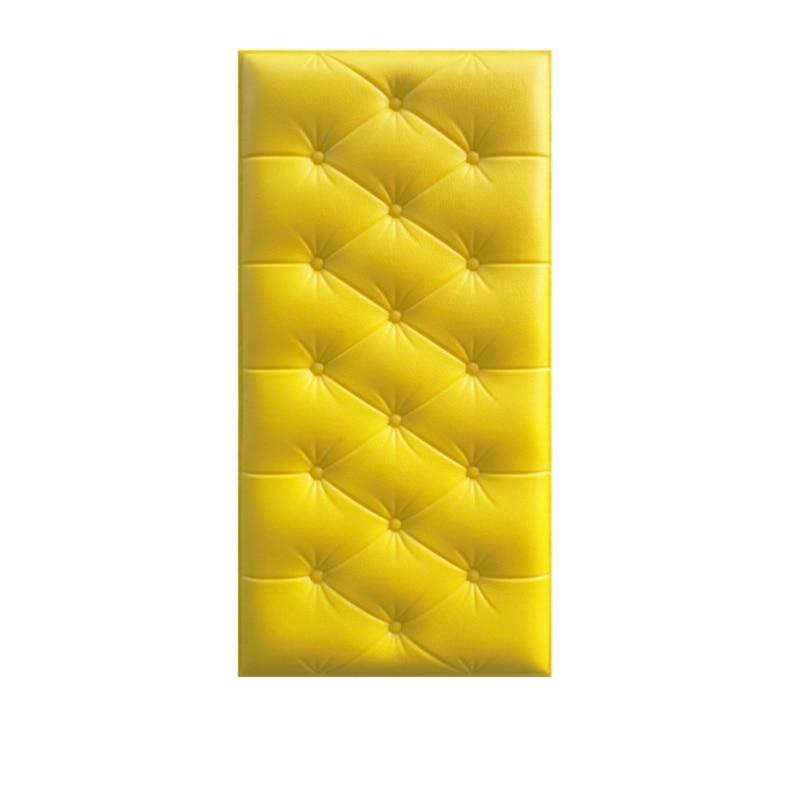 3D трехмерные наклейки на стену, утепленные татами, самоклеющиеся, анти-столкновения, настенный мат, детская спальня, кровать, мягкая подушка, Новинка - Цвет: Y