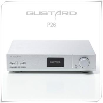 GUSTARD P26 Class A Fully Balanced Preamp Dual LM49860 Op AMP HIFI Pre Amplifier