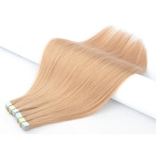 Tape In Hair 100% Human Hair Extensions 20P/40P/80P Double Sided Tape Hair