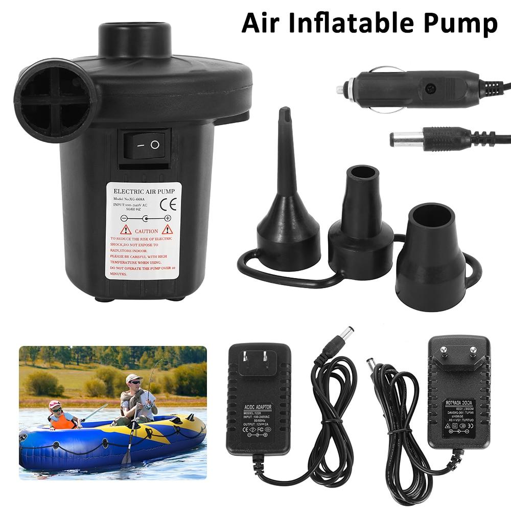 240V Electric Air Pump Inflator Air Bed Mattresses Camping Pools Ball Compresser