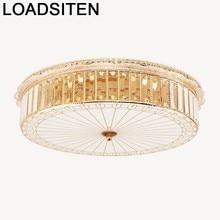 Luminaire Plafon Deckenleuchte Industrial Decor Plafondlamp Plafonnier Luminaria Teto Crystal Lampara De Techo Ceiling Light