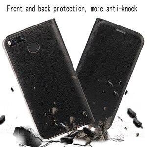 Image 5 - Virar Capa de Couro Caso de Telefone Para Xiaomi Mi 5X A1 Protetor Xiami Xiomi 5C Mi5C MiA1 Mi5X com Cartão de Crédito slot de Carteira de bolso