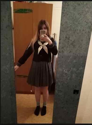 Japanse School Uniform Voor Meisjes Sweet Lolita Sailor Koreaanse Uniformen Cosplay Lange Mouw Plooirok Student Set