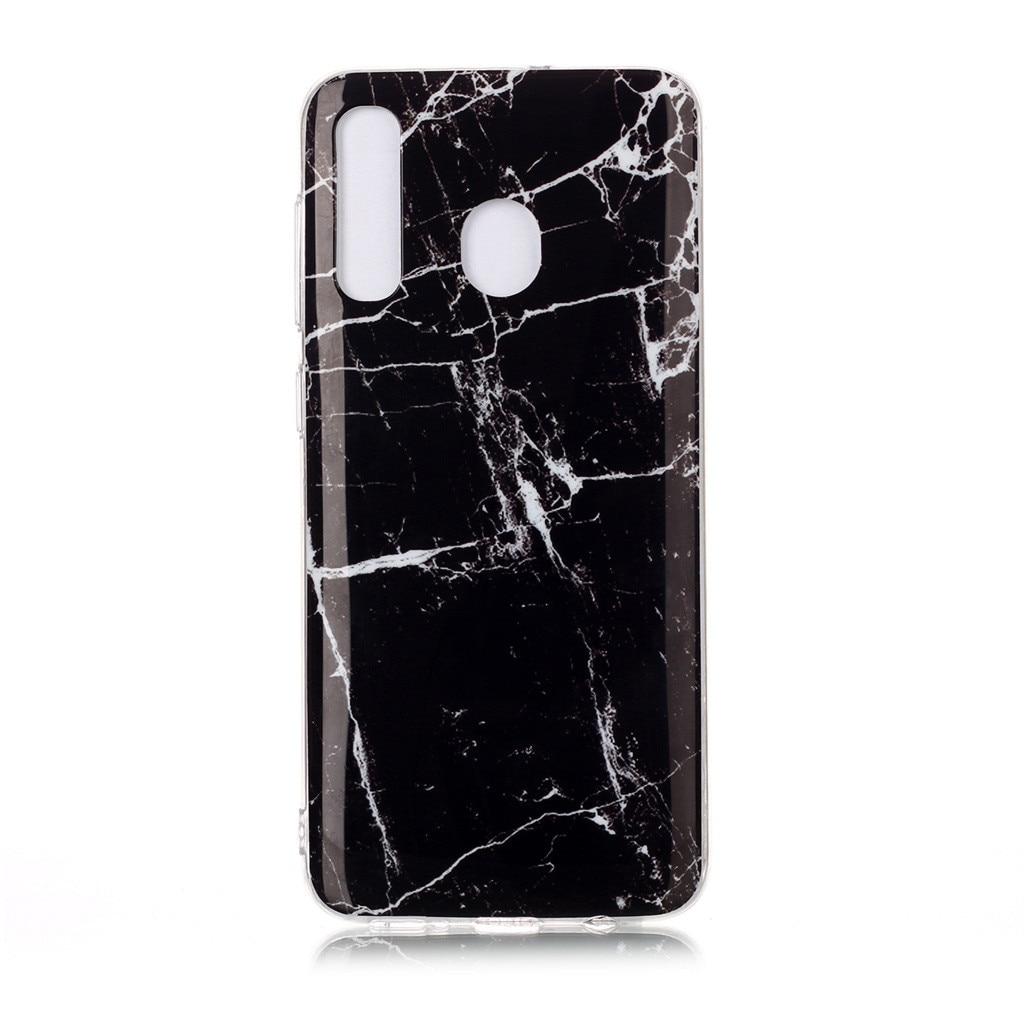 Case For Samsung Galaxy A20 6.4 In Silicone Soft Gel TPU Ultra-Slim Anti-Scratch S10