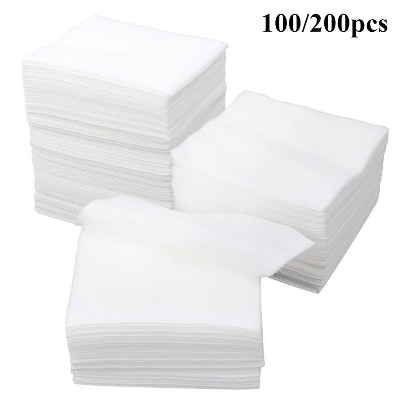 100/200 шт медицинские марлевые нетканые Марлевые Губки используемые для ухода за раной марлевые для ухода за раной аптечки медицинские прина...