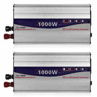 1Set LED Display 1000W Reine Sinus Welle Power Inverter 12 V/24 V Zu 220V Konverter transformator Netzteil Inverter