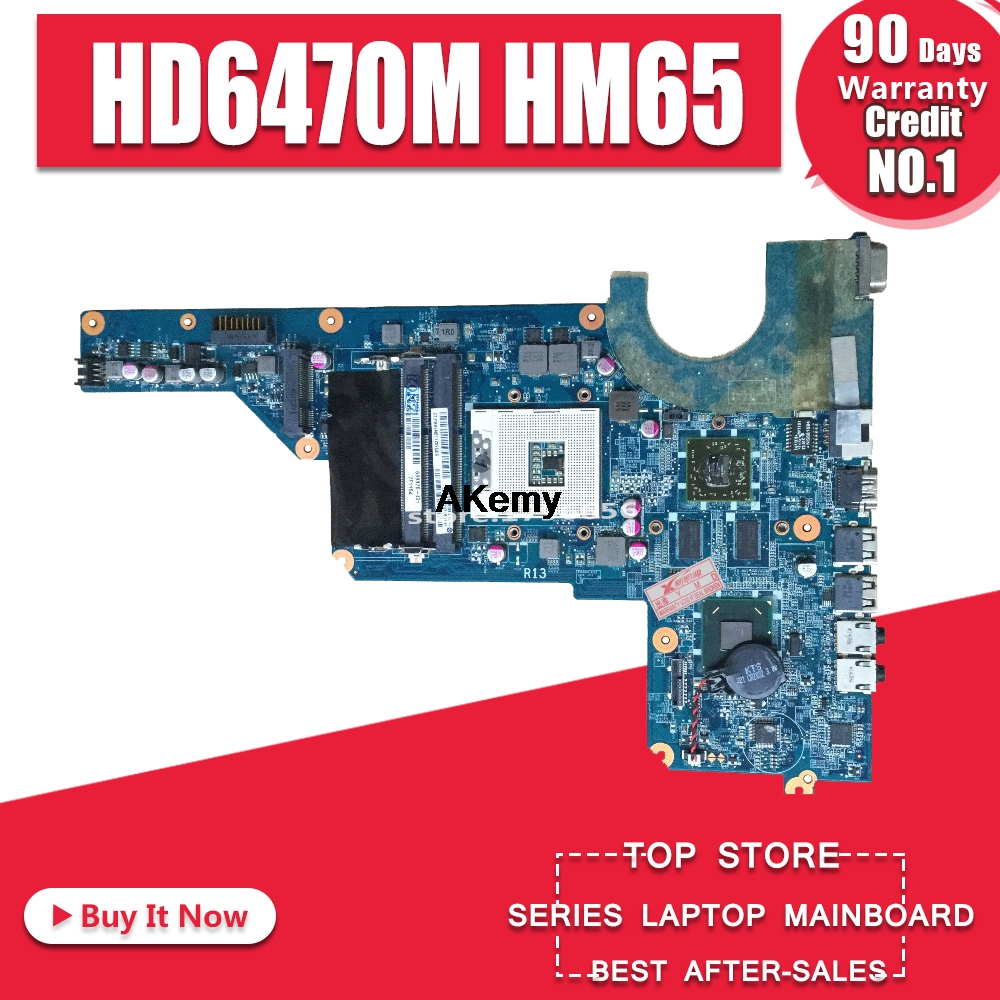 650199 001 for HP pavilion DAOR13MB6E1 G4 1000 G4 G6 G7 laptop motherboard with hm65 chipset 100% full tested ok|Motherboards| |  - title=