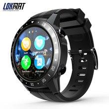 LOKMAT Bluetooth tryb sportowy Smartwatch obsługa karty sim otrzymać telefon zwrotny od krokomierz z pomiarem tętna GPS inteligentny zegarek mężczyźni dla android i ios
