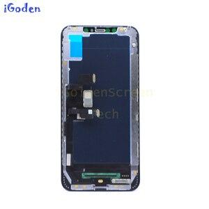 Image 5 - 6.5 עבור iPhone Xs מקסימום LCD החלפת תצוגת LCD עם מסך מגע Digitizer עצרת עבור iphone X S מקסימום lcd