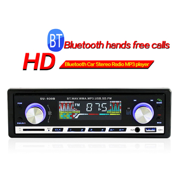 1 DIN Car Radio Bluetooth Autoradio Car Stereo Radio FM AUX Input Receiver Handfree SD USB Auto Stereo In-dash MP3 Audio Player image