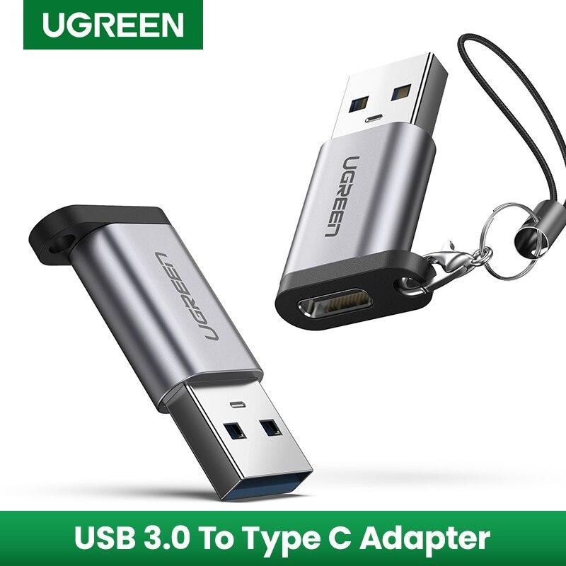 Адаптер Ugreen, USB 3.0 – USB C