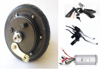 цена на 6 36V 250W electric 2 wheel scooter  hub motor kit ,electric scooter motor kit , electric skateboard conversion kit
